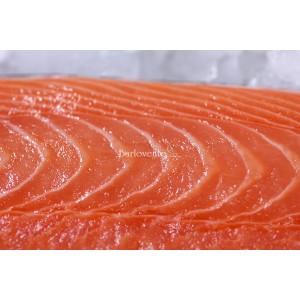 Salmon rosado filet con piel