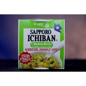 Sopa Sapporo Ichiban (sabor pollo)