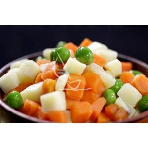 Jardinera (papa, zanahoria...